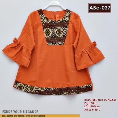 ABe-037 Blouse Balotelli Songket