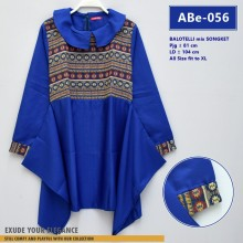 ABe-056 Blouse Balotelli mix Songket