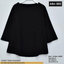 ABn-005 Blouse Scuba Crepe