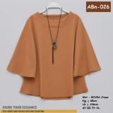 ABn-026 Blouse Scuba Crepe