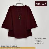 ABn-027 Blouse Scuba Crepe