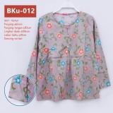 BKu-012 Atasan Wanita fashion motif