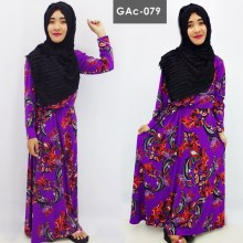 GAc-079 Gamis Tali Pinggang