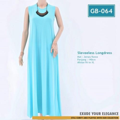 Gb 064 Gamis Tanpa Lengan