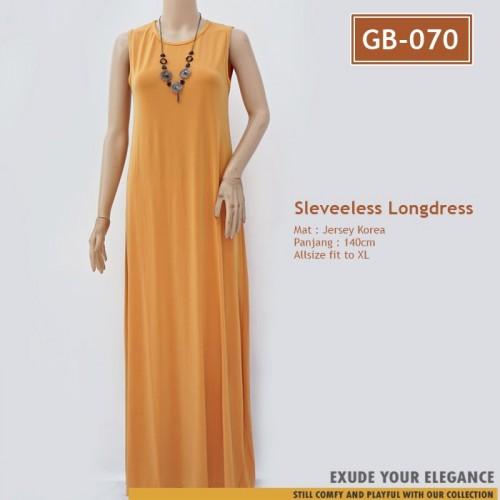 Gb 070 Gamis Tanpa Lengan