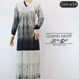 GM-e34 Gamis baby doll motif