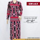 GM-e63 Gamis baby doll motif