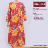 GNu-005 Elena Dress - Gamis Katun