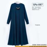 GPa-087 Gamis Polos Semi Klok