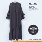 GPm-006 Ruffle Dress Bellsleeve