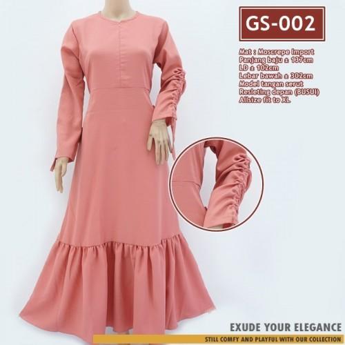 Gs 002 Gamis Arumi Ruffle Dress