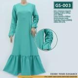 GS-003 Gamis ARUMI Ruffle Dress