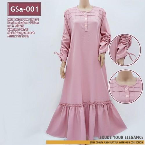 GSa-001 Gamis DEASY Ruffle Dress