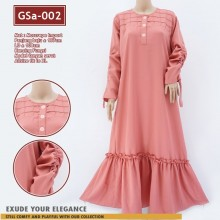 GSa-002 Gamis DEASY Ruffle Dress