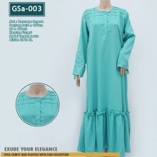 GSa-003 Gamis DEASY Ruffle Dress