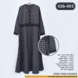 GSb-003 Long Dress Semi Woll Flanel
