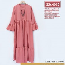 GSc-005 Gamis JILLY Ruffle Dress