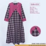 GUb-033 Gamis Linen Dress Fashion