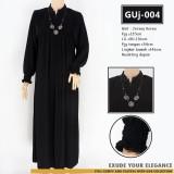 GUj-004 Gamis jersey Resleting /probreastfeeding