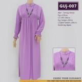 GUj-007 Gamis jersey Resleting /probreastfeeding