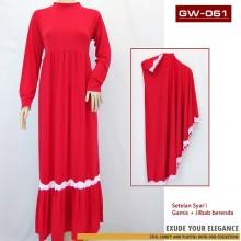 GW-061 Gamis setelan Jilbab