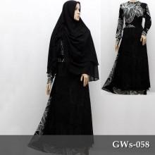 GWs-058 Gamis Taqwa + Jilbab