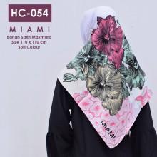 HC-054 Hijab Square Satin Maxmar