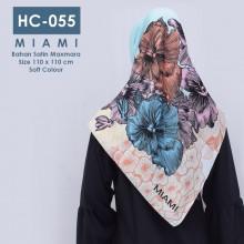 HC-055 Hijab Square Satin Maxmar