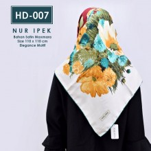 HD-007 HIJAB SQUARE by NUR IPEK