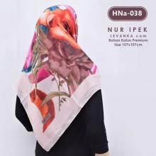 HNa-038 HIJAB SQUARE COTTON by NUR IPEK