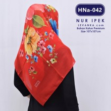 HNa-042 HIJAB SQUARE COTTON by NUR IPEK
