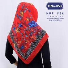 HNa-053 HIJAB SQUARE COTTON by NUR IPEK