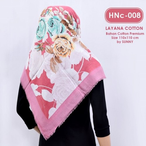 HNc-008 HIJAB COTTON VELVET
