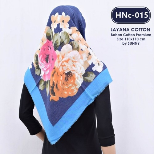 HNc-015 HIJAB COTTON VELVET