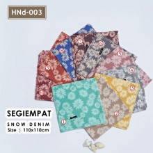 HNd-003 Segiempat Snow Denim