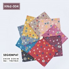 HNd-004 Segiempat Snow Denim