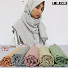 HP-019 Pashmina Katun Stripe