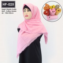 HP-025 Segi 4 Cotton Denim