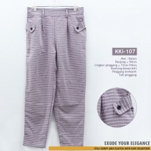 KKi-107 Celana Kulot Fashion