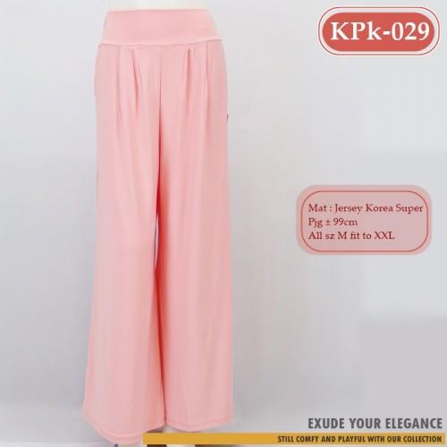 KPk-029 Kulot Polos Berkantong