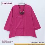PHq-001 Atasan Katun Kancing
