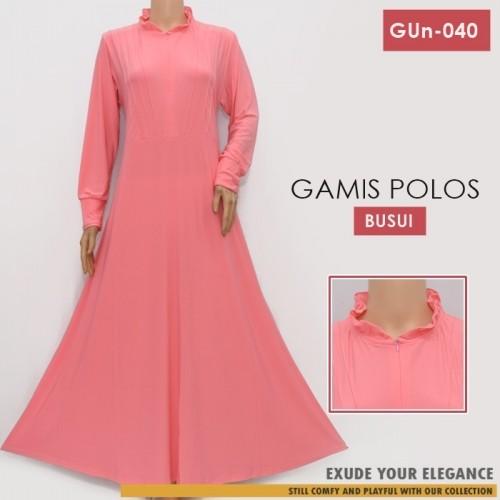 GUn-040 Gamis Payung Resleting