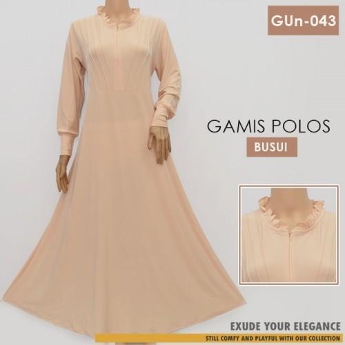 GUn-043 Gamis Payung Resleting