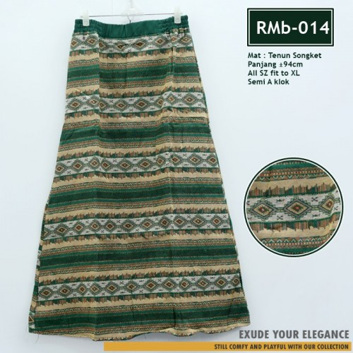 RMb-014 Songket Tenun Skirt